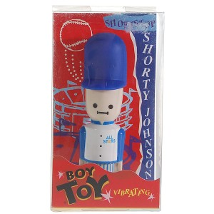 Body Massager Disguised as Shorty Johnson Cartoon Figure