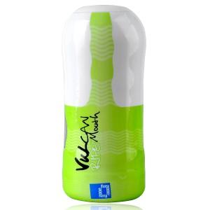 FunZone Vulcan Ripe Mouth Male Masturbation Sleeve (Green +White)