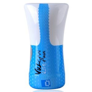 FunZone Vulcan Ripe Anus Male Masturbator Stamina Training Sleeve (Blue +White)