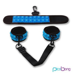 PicoBong Resist No Evil Cuffs Blue