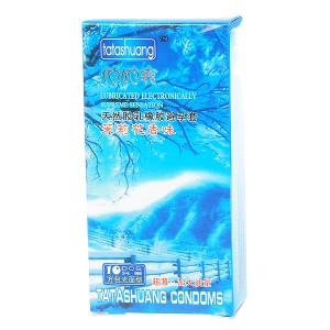 Jasmine Flavored Natural Latex Lubricated Condoms (10-Pack)