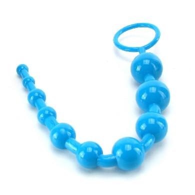 Shane's World Advanced Anal 101 Beads-Blue