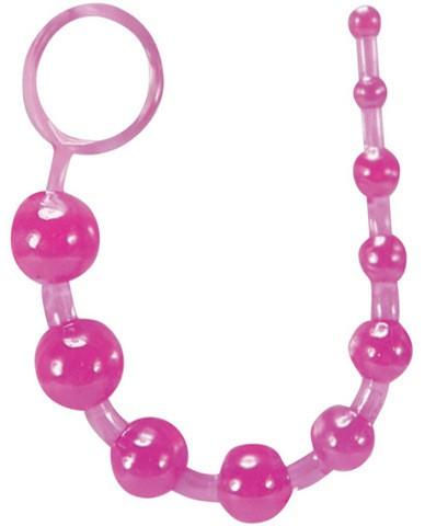 Sassy Anal Beads Purple