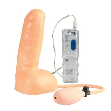 Vibrating Latex Penis Extension