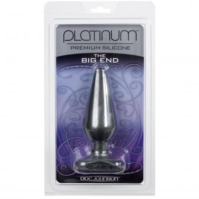 Platinum Silicone Charcoal Big End