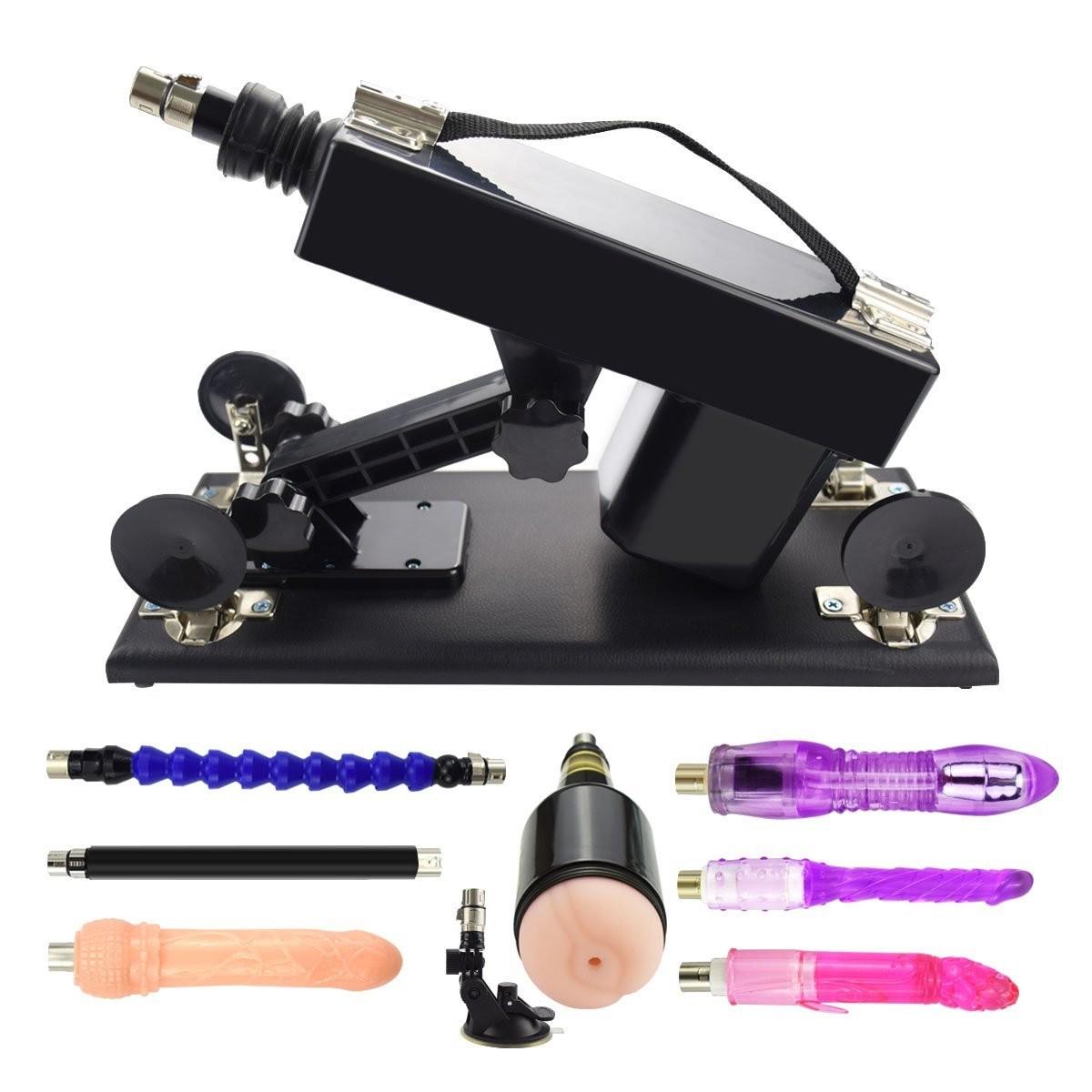Multi-Speed Adjustable Pumping & Thrusting Sex Machine Device