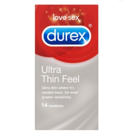 Durex Ultra Thin Feel Condoms