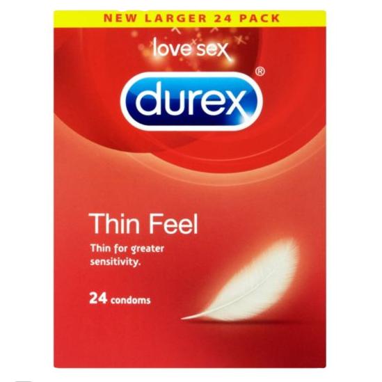 Durex Thin Feel 24 Condoms
