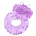 Vibrating Animal Massager Ring + Condom (1*L754)