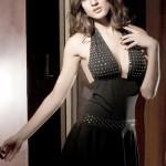 Sexy Babydoll Dress Braces Skirt - Black