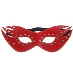 PVC Soft Intimate Leather Eye Mask (Red)
