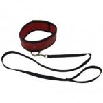 Sex & Mischief Red Leash & Collar