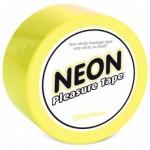 Neon Bondage Tape - Yellow