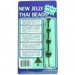 Jelly Thai Beads Black