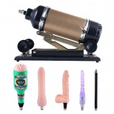 Automatic Sex Machine Adjustable Angle and Thrusting Love Machine with Masturbation Attachments Sex Toys
