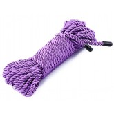 32.8 Feet Bondage Silky and Soft Twisted Nylon Rope - Purple