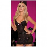 Sexy And Lovely Nurses Cosplay Sexy Underwear Sexy Lingerie In Black