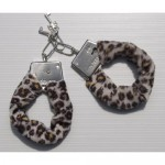 Adult Metal Handcuffs with Plush Wrap